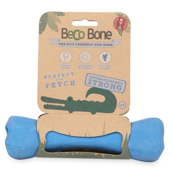 Beco Pets Hundespielzeug Beco Bone Blau Groß