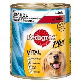 Pedigree Pâtée pour chiens à base d'huile de poisson, de bœuf et de gelée