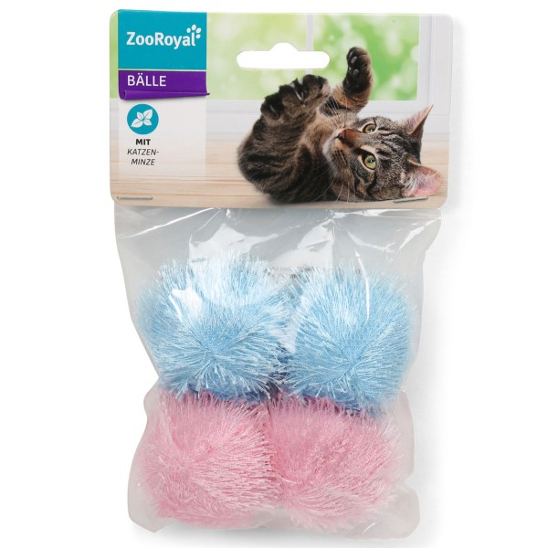 ZooRoyal Stoffball mit Katzenminze