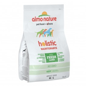 Almo Nature Holistic Medium Dog 2 mit Lamm und Reis