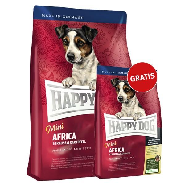 Happy Dog Mini Africa 4kg + 1kg gratis
