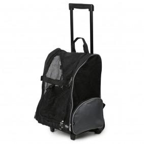TRIXIE Tbag vozík na kolečkách 36×50×27cm znylonu, černá