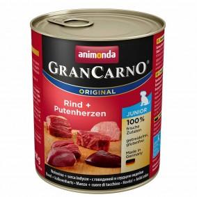 Animonda Nassfutter Gran Carno Junior Rind und Putenherzen