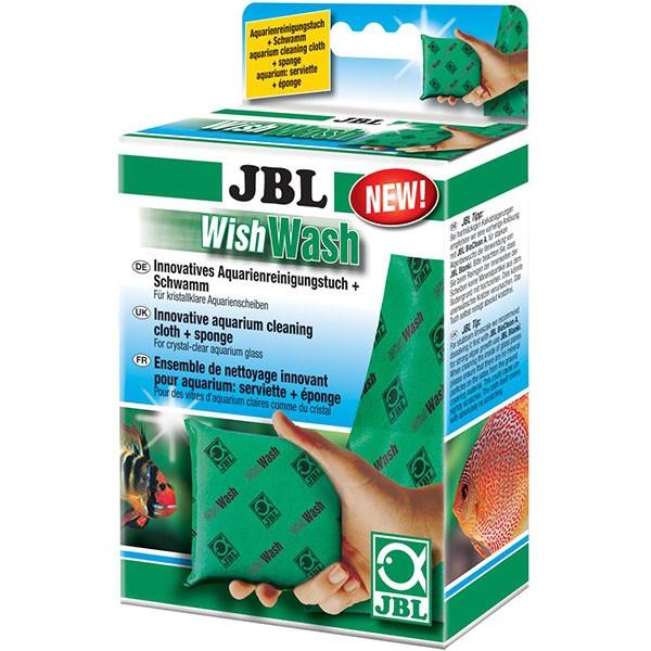 JBL WishWash Aqua - Aquarienreinigungstuch + Schwamm