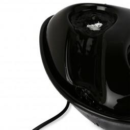 Pioneer Pet Keramik Trinkbrunnen Rain Drop Style 1,8 l schwarz