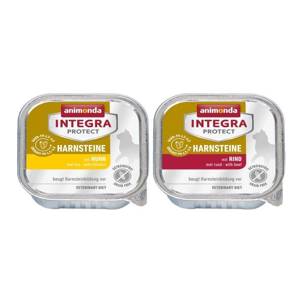 animonda Integra Protect Adult Harnsteine Mixpaket 24x100 g