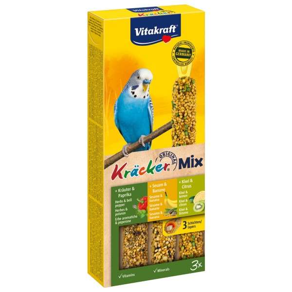 Vitakraft Kräcker Trio Banane Kräuter Kiwi