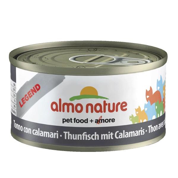 Almo Nature Katzenfutter 70g - Thunfisch mit Ca...