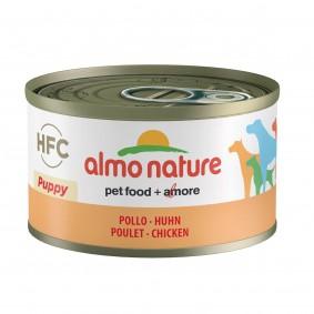 Almo Nature HFC Natural Dog PUPPY mit Huhn 95g 5+1 gratis