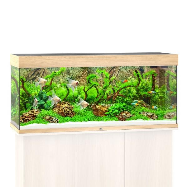 Rio 240 Aquarium ohne Schrank - Helles Holz