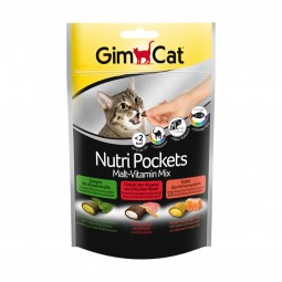 GimCat Nutri Pockets MaltVitamin Mix 150g