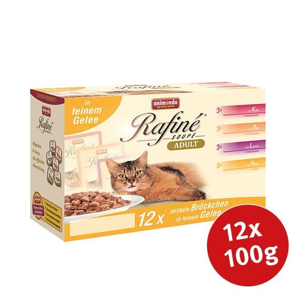 Animonda Katzenfutter Rafiné Soupé Multipack No.2 12x100g