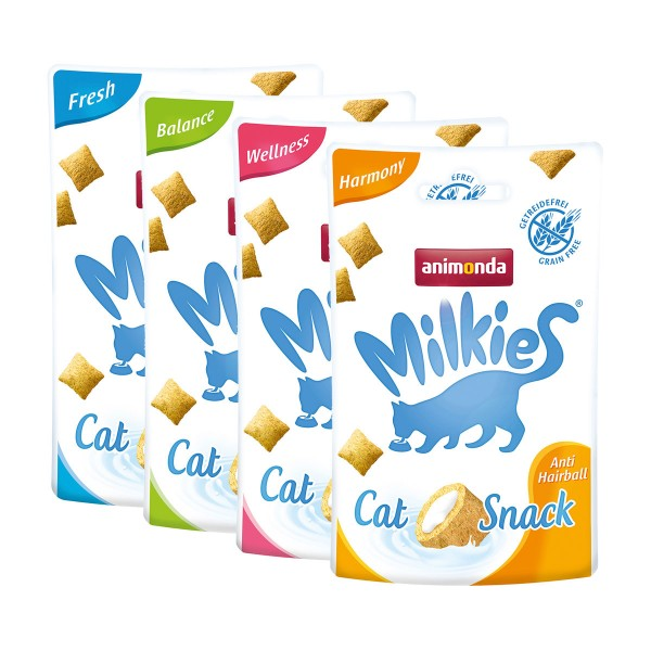 Animonda Milkies Knusperkissen Mix 4x3x30g je 3 für 2