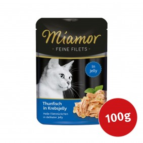 MIAMOR Feine Filets Thunfisch in Krebsjelly