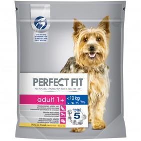 Perfect Fit Adult 1+ für kleine Hunde reich an Huhn 1,4kg 2+1 GRATIS