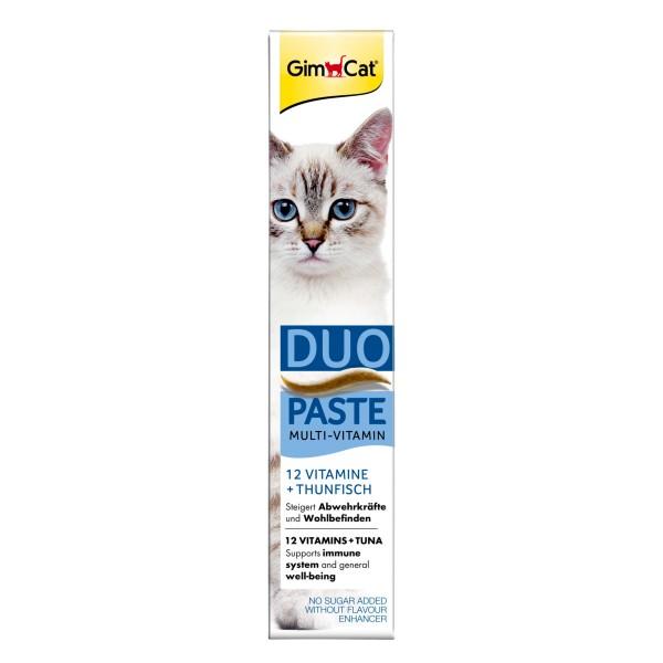 GimCat MultiVitamin DuoPaste Thunfisch + 12 Vitamine 50g
