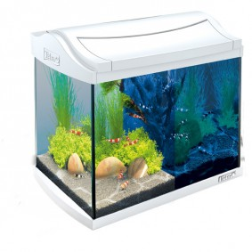 Tetra AquaArt LED Aquarium-Komplett-Set weiß
