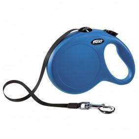 flexi New Classic Gurtleine blau L 8m