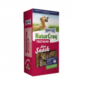 Happy Dog NaturCroq Mini Snack Truthahn