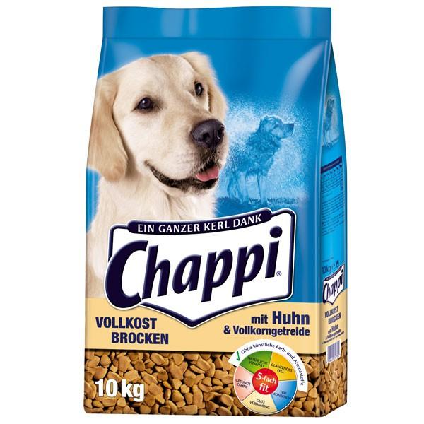 Chappi Vollkost Brocken Huhn+Gemüse+Getreide 10kg