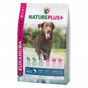Eukanuba NaturePlus+  Adult Large Breed Lachs