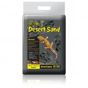 Exo Terra Desert Sand Substrat pour terrarium Noir 4,5 kg