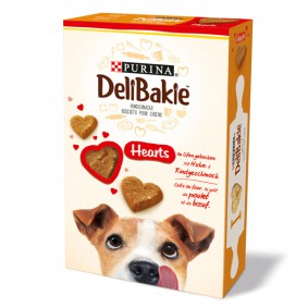 DeliBakie Hearts Hundekekse 350g
