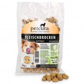 petcura Fleischbrocken 120g - Geflügel