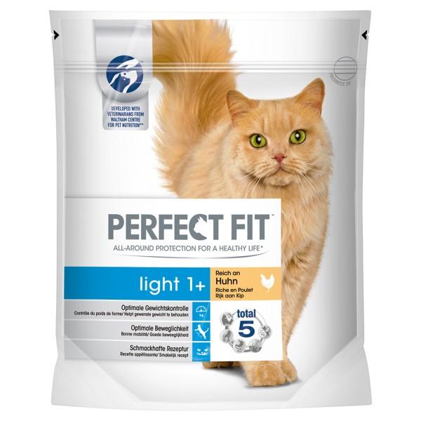 Perfect Fit Katzenfutter Light 1+ reich an Huhn