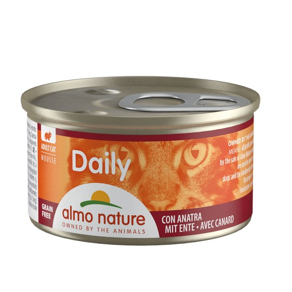 Almo Nature PFC Daily Menu Cat Mousse mit Ente