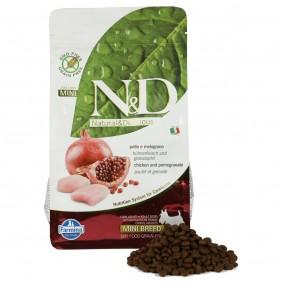 N&D Hundefutter Huhn&Granatapfel Mini Adult getreidefrei