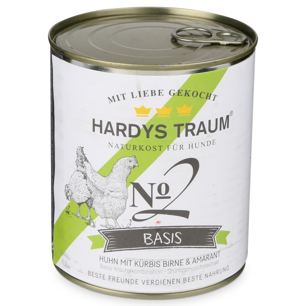 Hardys Traum Nassfutter Basis No. 2 Huhn