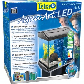 Tetra AquaArt LED Aquarium Komplettset Anthrazit 30