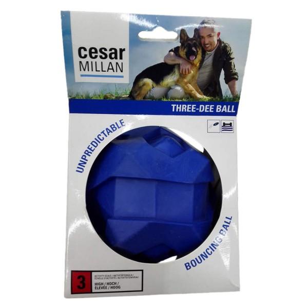Cesar Millan Hundespielzeug Three-Dee Ball