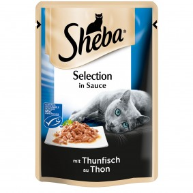 Sheba Selection in Sauce mit Thunfisch MSC