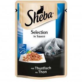 Sheba Katzenfutter Selection in Sauce Thunfisch (MSC)
