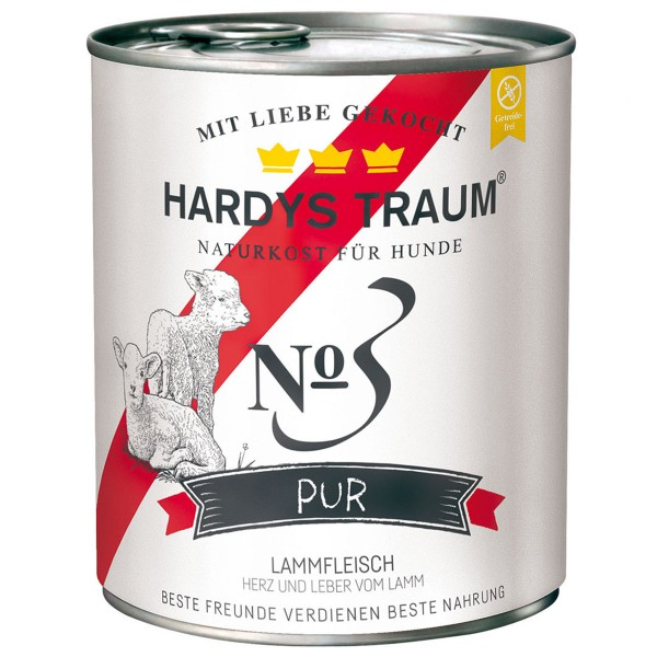Hardys Traum Nassfutter Pur No. 3 Lamm