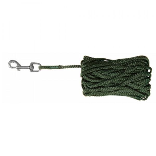Trixie Schleppleine Nylon grün