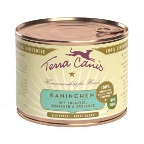 Terra Canis Kaninchen mit Zucchini, Amaranth und Bärlauch