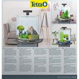 Tetra AquaArt Explorer Line Halfmoon Komplett-Set 30l