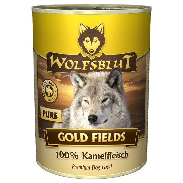 Wolfsblut Gold Fields PURE Kamelfleisch