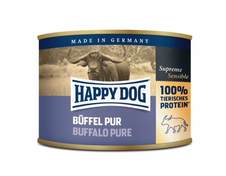 Happy Dog Büffel Pur 12x200g