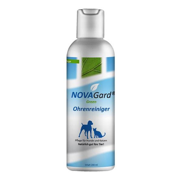 NovaGard Green Ohrenreiniger für Hunde und Katzen 200 ml