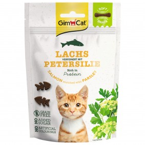 GimCat Soft Snacks Lachs mit Petersilie