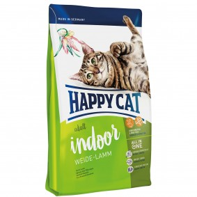 Happy Cat Supreme Adult Indoor Weide-Lamm 3x4kg