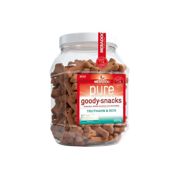 Mera Dog Goody Hundesnack Truthahn+Reis 600g