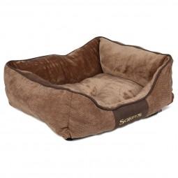 Scruffs Hundebett Chester Box Bed Braun