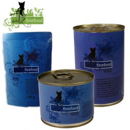 CATZ Finefood - No. 17 - Aliment pour chats au poulet et aux crevettes en boîte