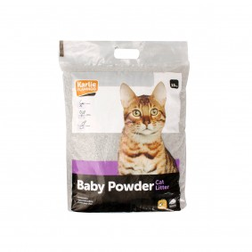 Pet Plus Cat Litter Katzenstreu mit Babypuderduft 15kg