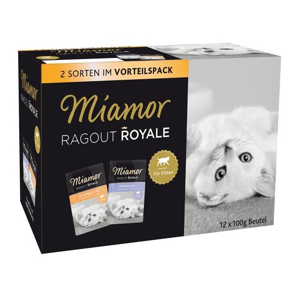 Miamor Ragout Royale in Jelly Multibox Kitten